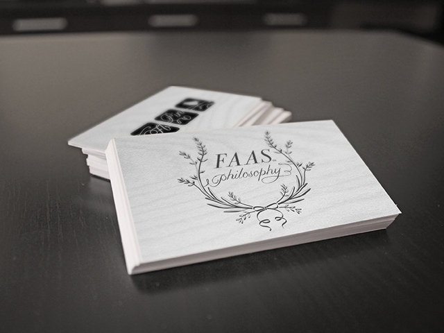 Faas Philosophy Logo & Icon Design