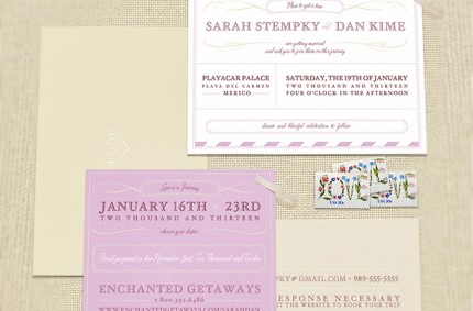 S & D Wedding Invitations