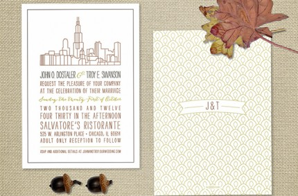 J & T Wedding Invitation
