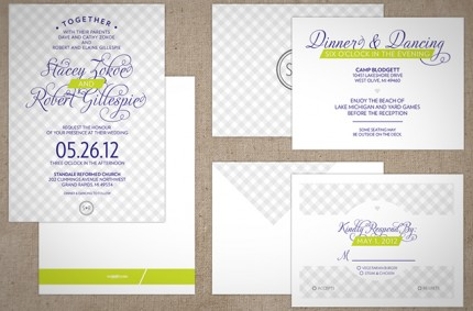 S & R Wedding Invitation